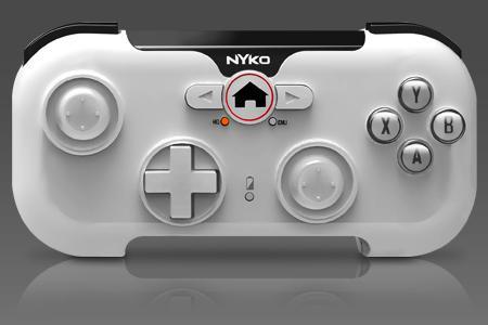 Controles físicos da Nyko pretendem melhorar a jogabilidade em dispositivos Android. (Fonte da imagem: Reprodução/Nyko)