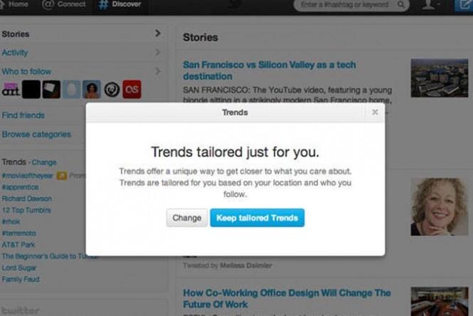 Mudança irá fazer com que lista de Trending Topics apresente ao usuário as frases mais populares de acordo com os seus interesses