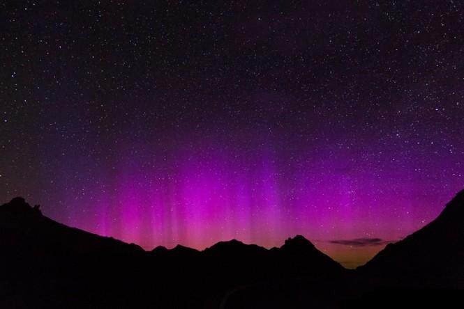 Nasa fotografa aurora boreal nos EUA