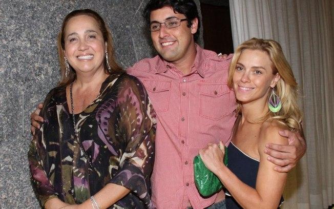 Claudia Jimenez e Carolina Dieckmann são amigas há muitos anos