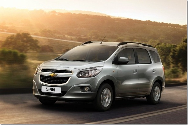 Chevrolet Spin ganha motor Diesel na Argentina – Campo ...